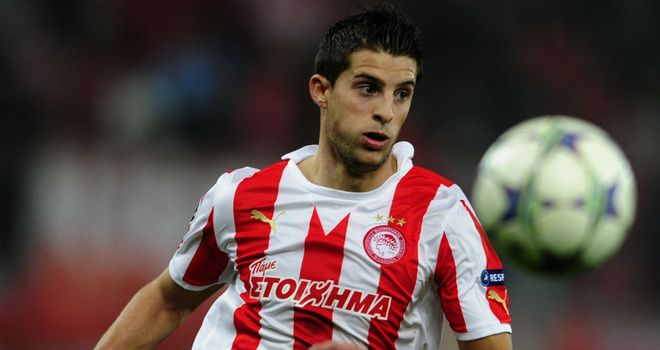 Kevin Mirallas: Joined Everton on a four-year deal from Olympiakos
