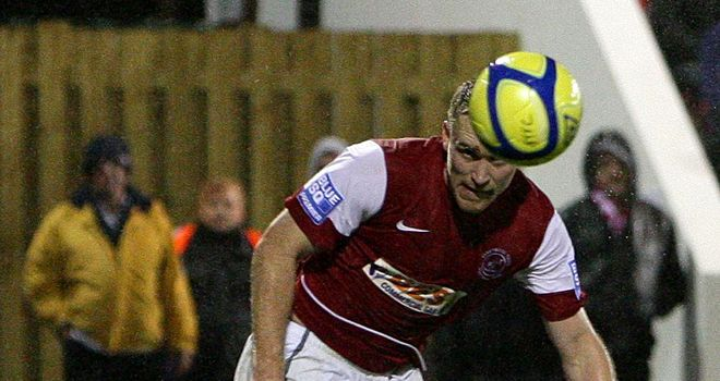 Charnock: At Macclesfield on loan