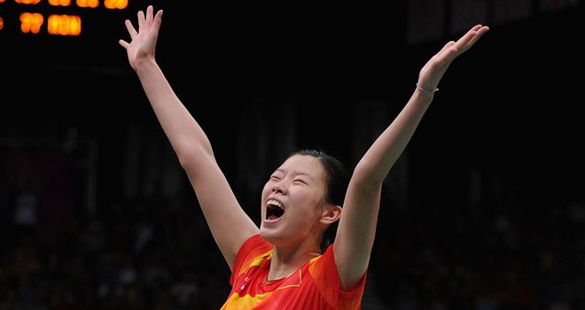 Li Xuerui: Won the final of the women's badminton singles