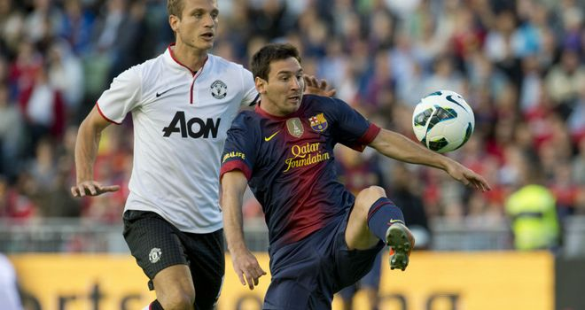 Lionel Messi: Played the first half