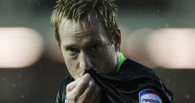 Becchio: Two goals at London Road