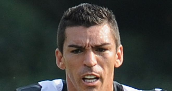 Lucio: Juventus defender faces a spell on the sidelines after damaging ankle ligaments