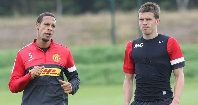 Rio Ferdinand and Michael Carrick happy with decision to appoint David Moyes
