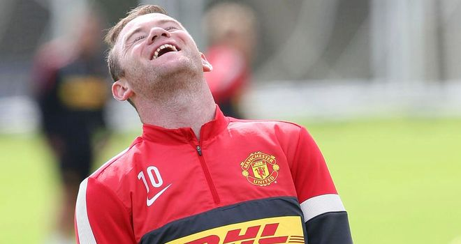 Wayne Rooney: Would welcome the chance to partner Robin van Persie in attack