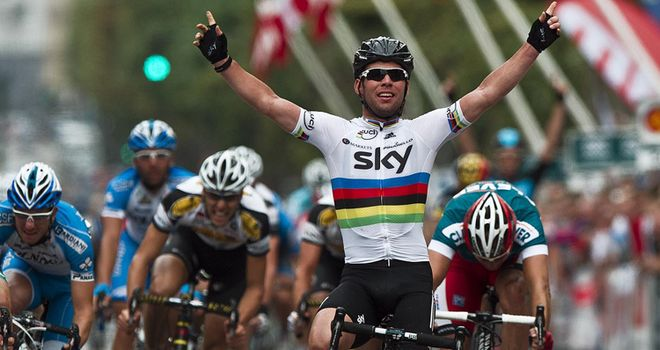 Mark Cavendish: has had a successful season, winning 12 times