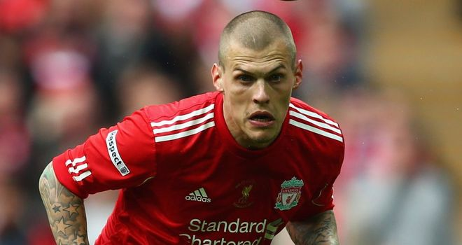 Martin Skrtel: Hopes to keep Carlton Cole quiet