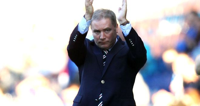 Ally McCoist: Says Charles Green's outspoken approach has been a positive for the club