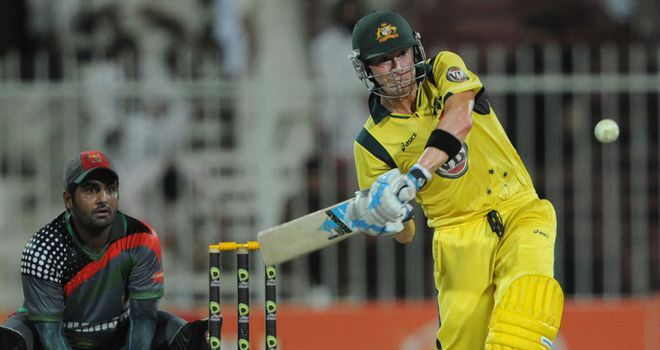 Michael Clarke: Scored 75 for Australia