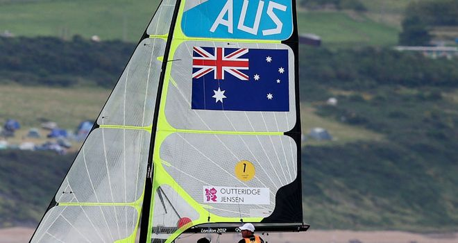 Nathan Outteridge & Iain Jensen: Aussie duo win gold