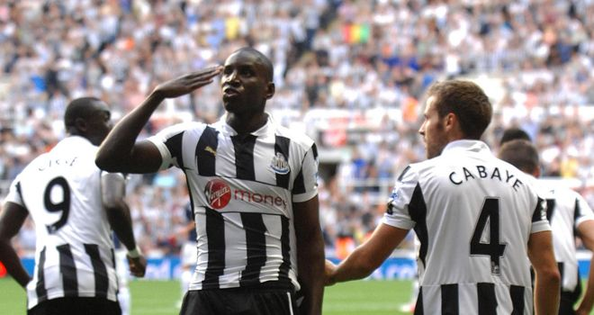 Demba Ba: Opened his account against Spurs