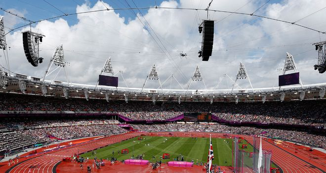 The Olympic Stadium: During the games