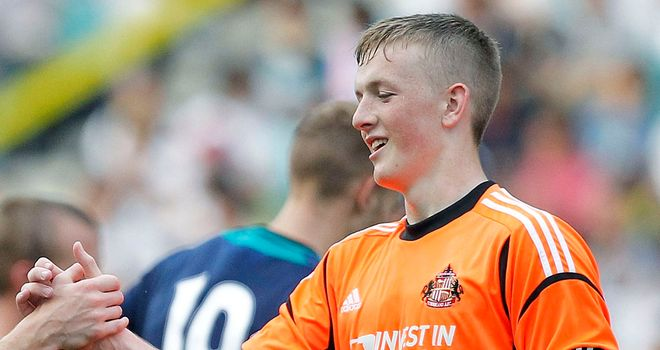 Jordan Pickford: Being monitored by Rowett