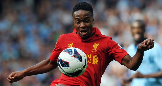 Raheem Sterling: Earned rave reviews for his performance against Manchester City's Kolo Toure