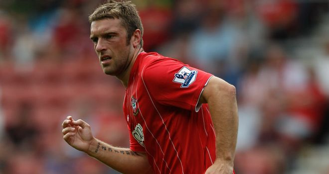 Rickie Lambert: Netted on his Premier League bow against Manchester City