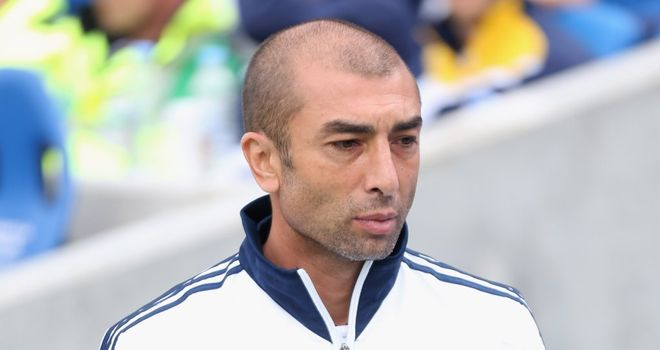 Roberto Di Matteo: Looking to defend title with Chelsea