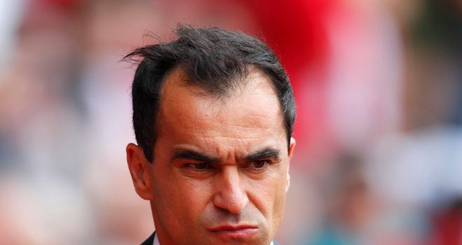 Roberto Martinez: Wigan manager is hoping to secure the club's first points away to Manchester United
