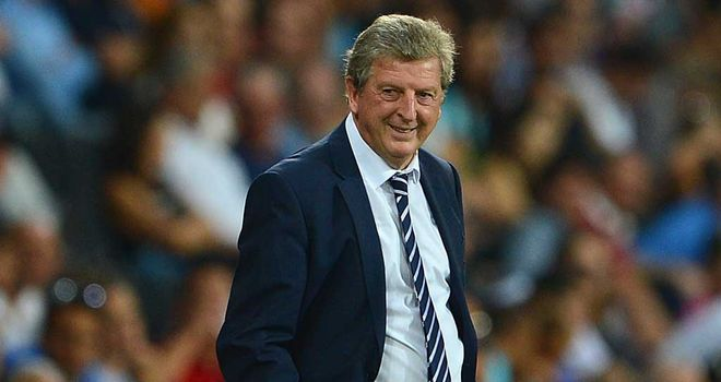 Roy Hodgson: Watched his England team climb to third in the world after Euro 2012