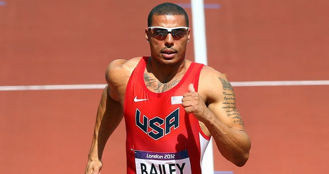 Ryan Bailey: Quickest in 100m heats