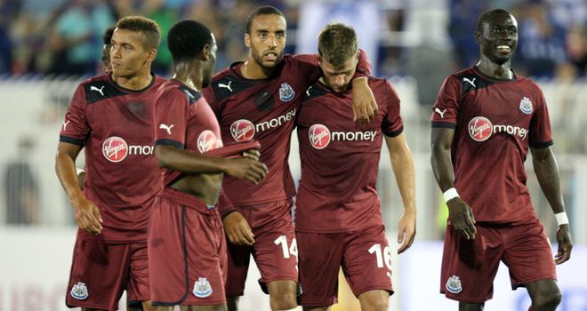 Ryan Taylor: Celebrated his equaliser against Atromitos on Thursday but was targeted by fans