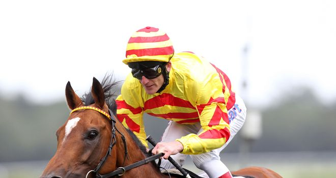 Saddler's Rock: Always well placed in the Goodwood Cup
