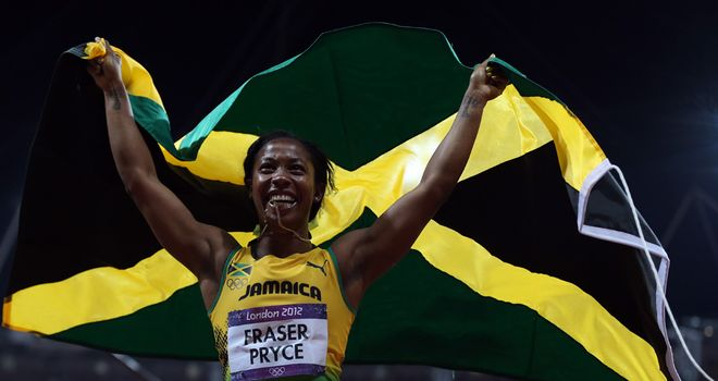 Fraser-Pryce: 100m glory in London