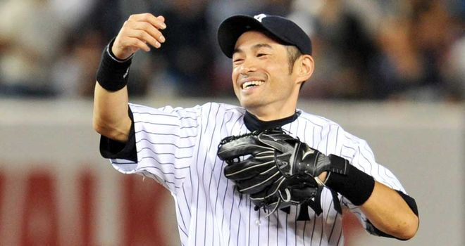Ichiro Suzuki: finished the game for the Yankees with their first walk-off homer of the season