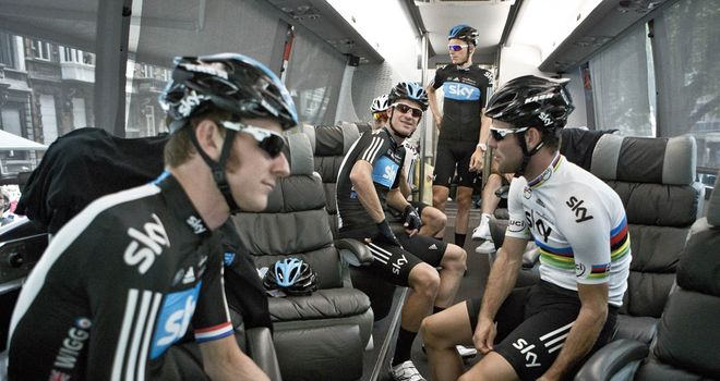 Team Sky have had plenty to celebrate in 2012