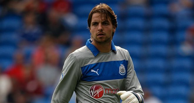 Tim Krul: Hoping to see Newcastle complete the signing of Vurnon Anita