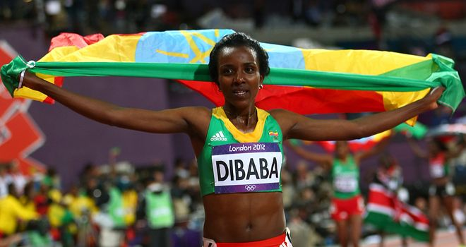 Tirunesh Dibaba: A shin injury has ruled her out of the London Marathon