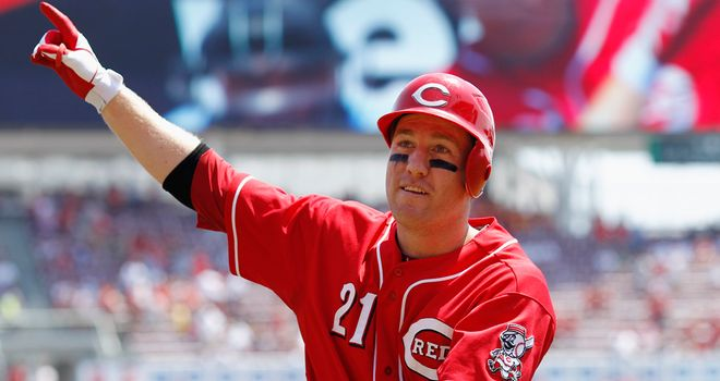 Todd Frazier: Two homers and three RBIs as the Reds beat the Padres