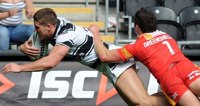 Tom Lineham: Two first-half tries in Hull FC's win at York
