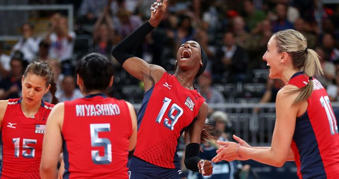 Destinee Hooker (C): Led the way for the USA in semi-final