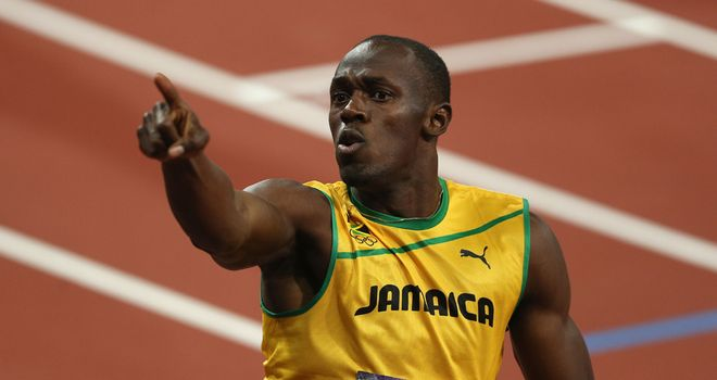 Usain Bolt: Believes he is now a living legend