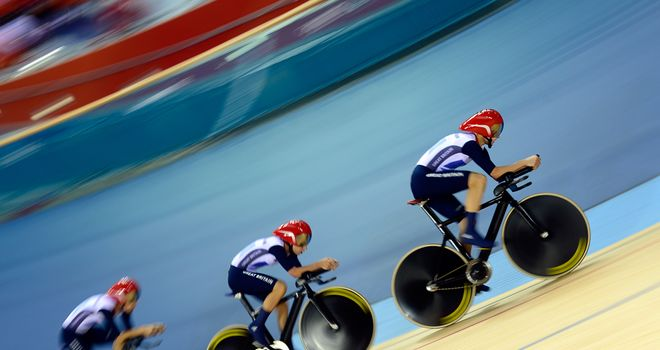 Team GB: Storming start in London