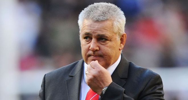 Warren Gatland: considering his options for the Lions captaincy in Australia
