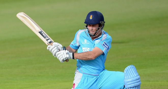 Wayne Madsen: first limited-overs fifty of the season