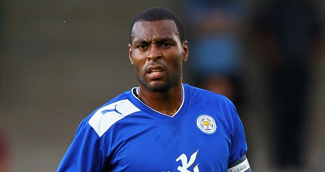 Morgan: Scored his first goal for Leicester