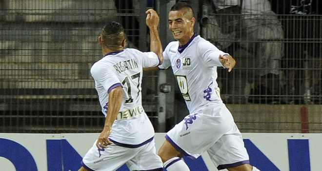 Wissam Ben Yedder: Gave Toulouse the lead