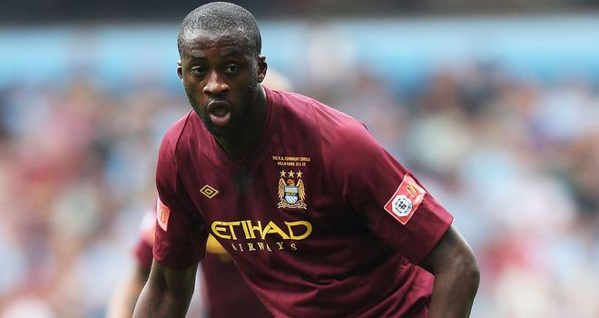 Yaya Toure: Shortlisted for top award