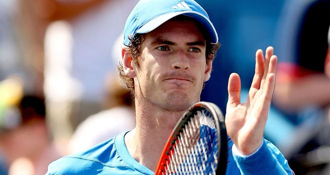 Murray: lost the 2008 US Open final in straight sets to Federer