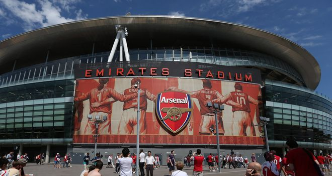The Emirates Stadium will host Saturday's north London derby