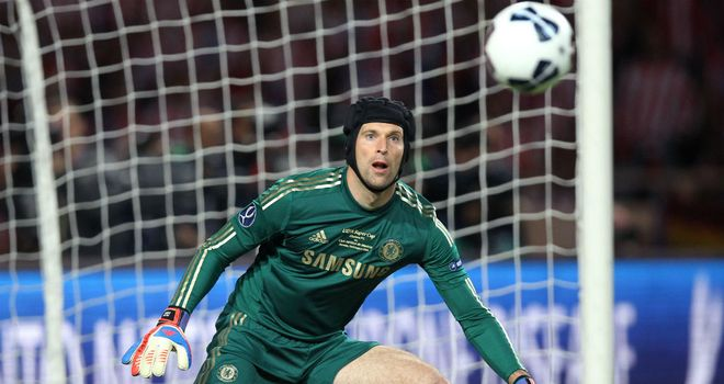 Peter Cech: impressive display