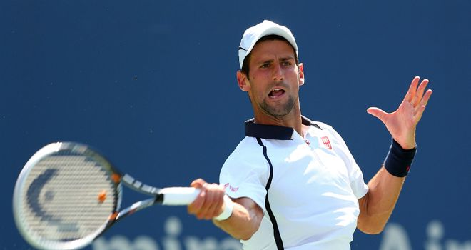 Novak Djokovic: The Serb sails through against Julien Benneteau