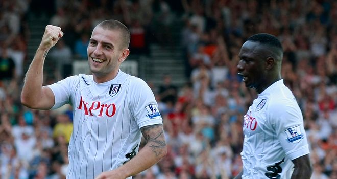 Mladen Petric (left): Early top scorer in Sky Sports Fantasy Football