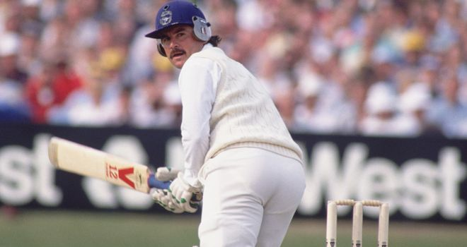 Allan Lamb: Won the Ashes in 1985 and in the 1986-87 series in Australia