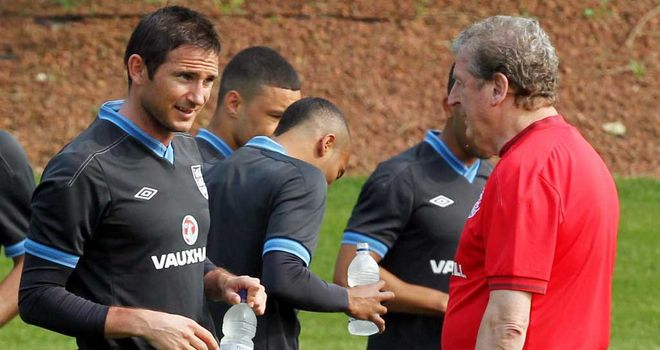Frank Lampard: Looking for England to push on under new boss Roy Hodgson