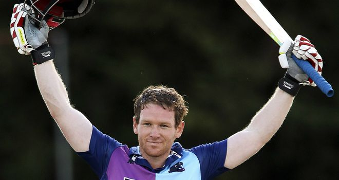 Eoin Morgan: Has agreed new two-year deal at Middlesex