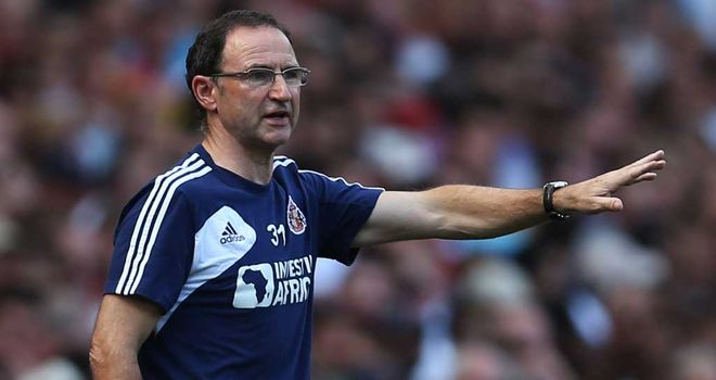 Martin O'Neill: Sunderland manager was satisfied to take a point from a 0-0 draw at Arsenal