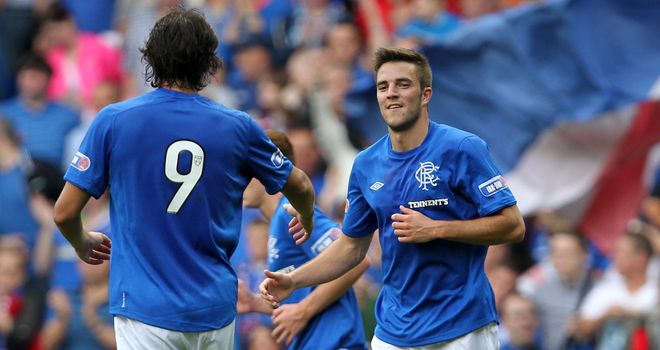 Little: Scored hat-trick for Rangers