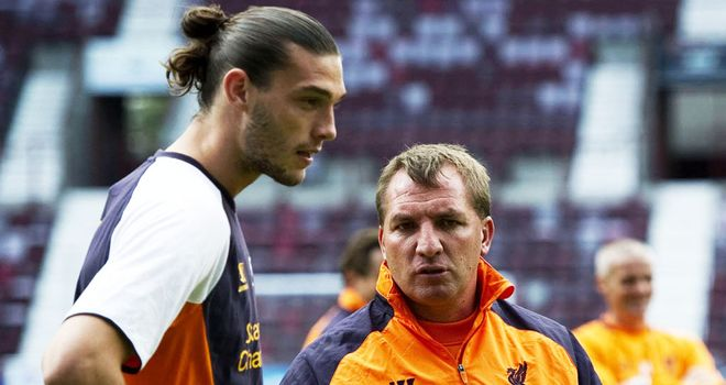 Brendan Rodgers: Has held talks with Andy Carroll over his future